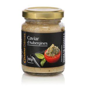 CONSERVE D'AUBERGINE CASINO DELICES Caviar d'aubergine - 90g