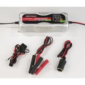CHARGEUR DE BATTERIE Chargeur de batterie automatique 12V-24V 6 étapes