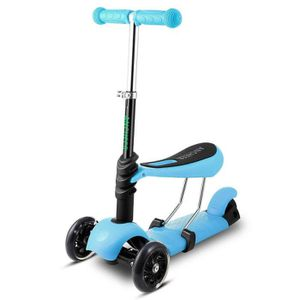 PATINETTE - TROTTINETTE ANCHEER 3 en 1 Trottinette Enfants 3 Roues - Scoot