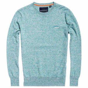 Superdry Orange Label vintage brodé à encolure ras-du-Cou Tee T-Shirt Hyper Cobalt