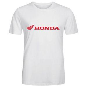 T-SHIRT Homme Unique Personnalisé Coton T shirt Honda Logo