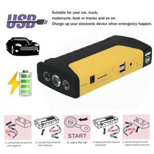 COMPRESSEUR 12V 12V 68800mAh Booster de Batterie Voiture Moto avec