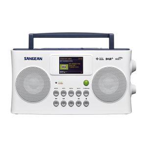 RADIO CD CASSETTE Sangean SIR-300 Radio Internet-Dab+-FM-RDS-USB Bla
