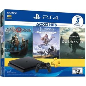 CONSOLE PS4 PS4 500 GO + Shadow of Colossus + God of War + Hor