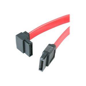 CÂBLE E-SATA Câble SATA à angle gauche de 46 cm - Câble SATA à