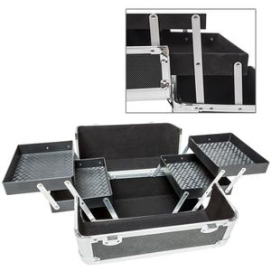 VALISE - BAGAGE TECTAKE Malette Rangement Maquillage Articulée 4 C