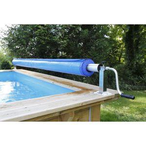 BÂCHE - COUVERTURE  UBBINK Enrouleur de bâches pour piscines – Premium