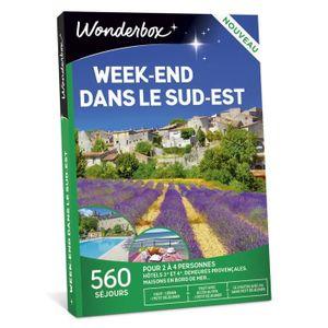 COFFRET SÉJOUR Wonderbox - Box cadeau de noel - Week-end dans le
