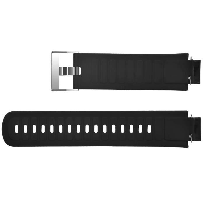 MONTRE OUTDOOR Bracelet de remplacement en silicone souple pour bracelet de montre Huami Amazfit Verge bg1007
