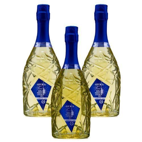 Vin mousseux italien Fanò Asolo Prosecco Superiore DOCG Astoria extra brut 3 bouteilles 75 cl.
