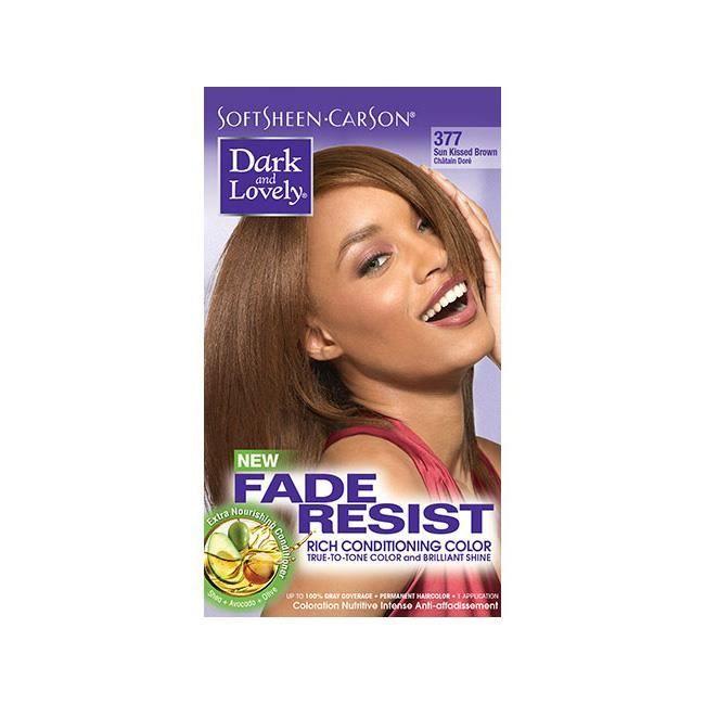 Dark & Lovely Fade Resist #377 Châtain Doré