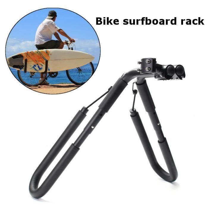 NEUFU Bicyclette Vélo Porte Support Planche de Surf Wakeboard Planches à Roulettes