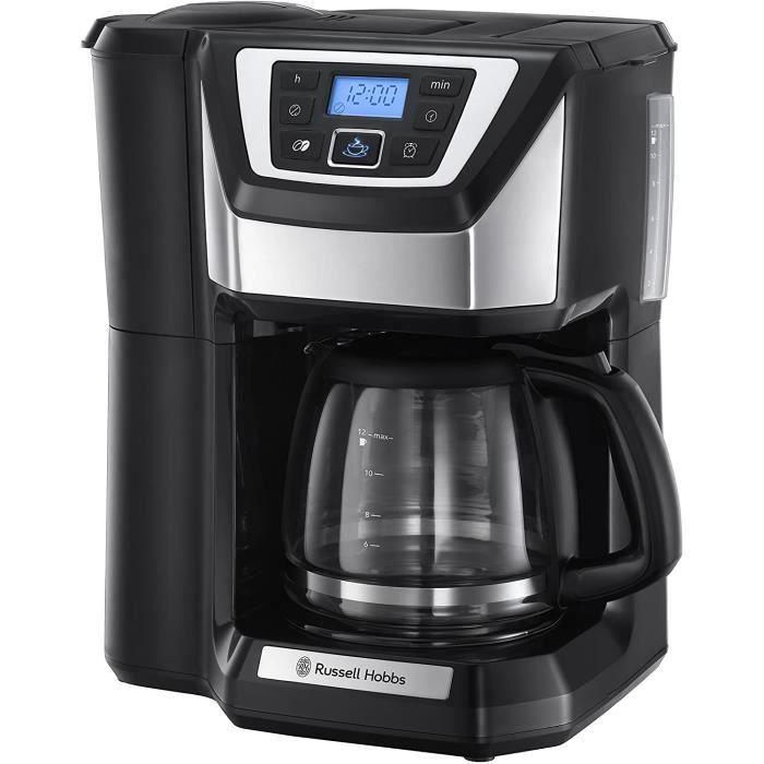 Machine à Café, Cafetière Filtre Semi Automatique, Moulin à Café, Ultra Silencieuse - 22000-56 Chester