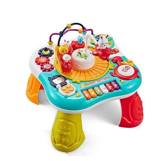 Table d'étude pour enfants, jouets pour enfants, table de jeu multifonctionnelle pour tout-petits