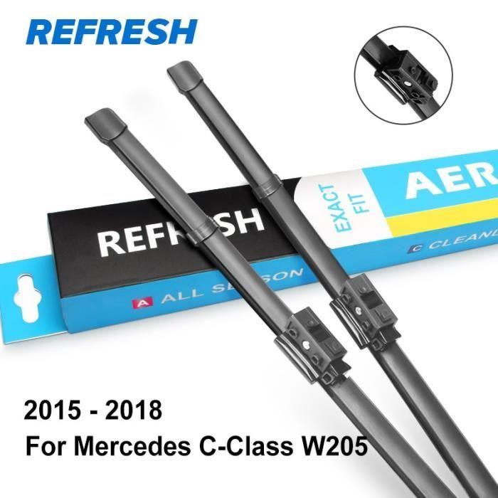 Balais d'essuie-glaces,Lames d'essuie glace pour Mercedes Benz classe C W203 W204 W205 - Type 2015 - 2018 ( W205 ) - LDH System