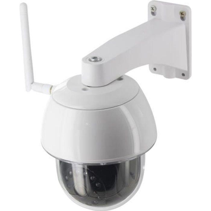 CHACON Caméra IP WI-FI dôme extérieure