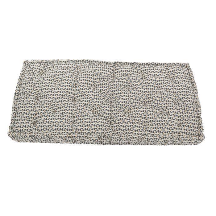 COTTON WOOD Coussin de palette - Coton - Imprimé Africa Bohème - 60x120x15 cm