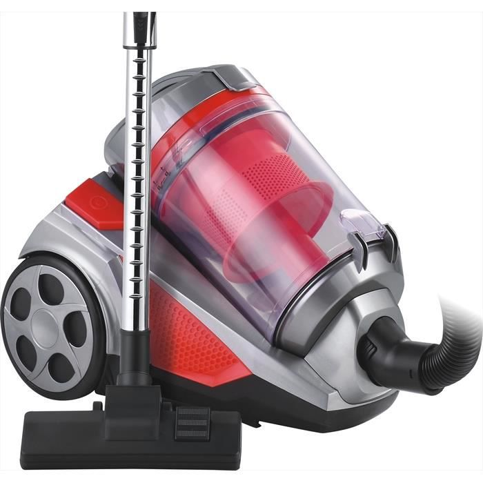 KLAISER - 2500W - Aspirateur Sans Sac Multi Cyclone Alligator Xtreme Force - Pure Air - Ultra Confort - Cordon Extra Long 7 Mètres