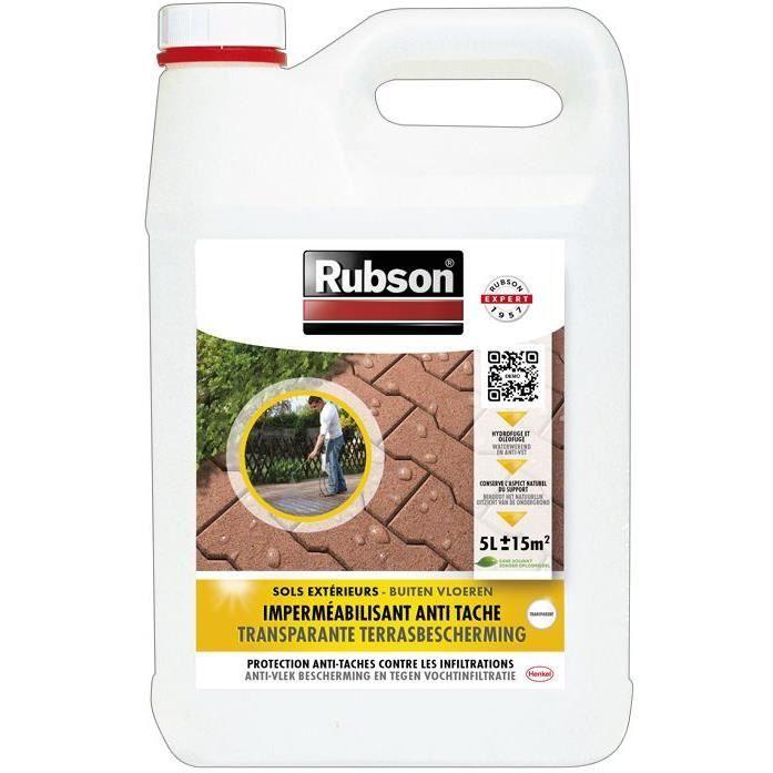 Imperméabilisant anti-taches - sols extérieurs - 5 L