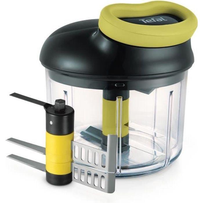 TEFAL Kit Hachoir 5 secondes + lame purée - 900 ml