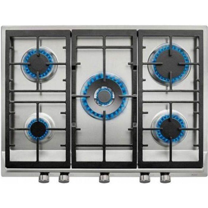 Plaque au gaz Teka EX70.1 5G AIAL 70 cm Acier inoxydable Noir (5 cuisinière)