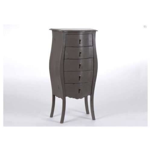chiffonnier baroque taupe amadeus achat vente commode semainier chiffonnier baroque taupe. Black Bedroom Furniture Sets. Home Design Ideas