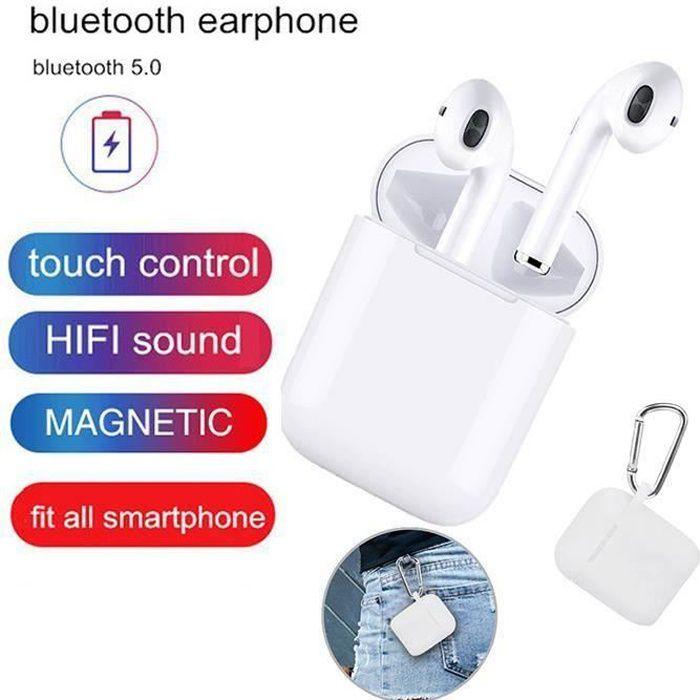 9 8 Plus Samsung S10 Mini Casque sans Fil Bluetooth 5.0 in-Ear Sport Ecouteurs pour Apple Airpods pour iPhone Casque Bluetooth Android