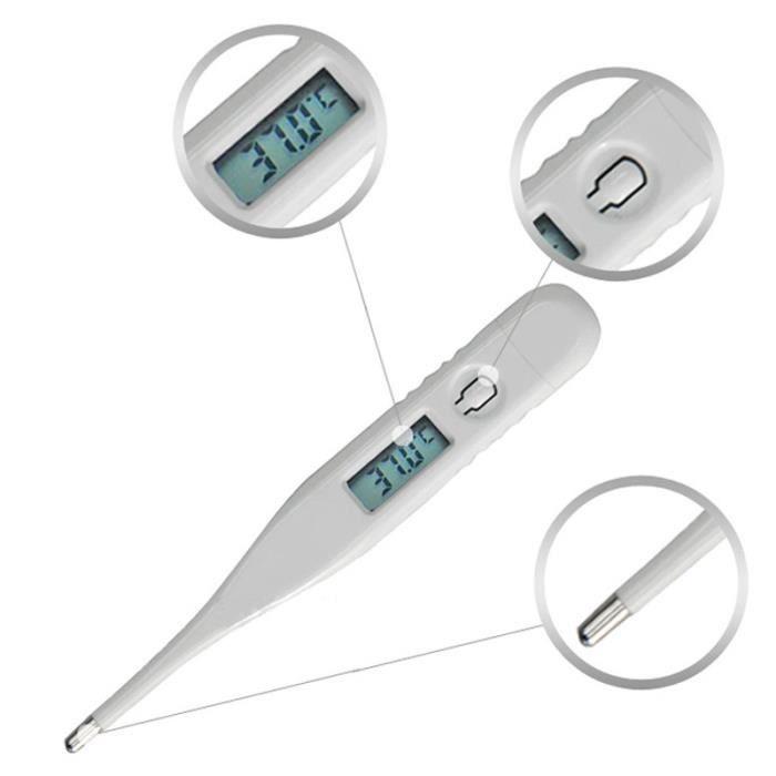 Cyeer Corps Thermom/ètre Enfants b/éb/é Adulte LCD num/érique termometre temp/érature Mesure Outils