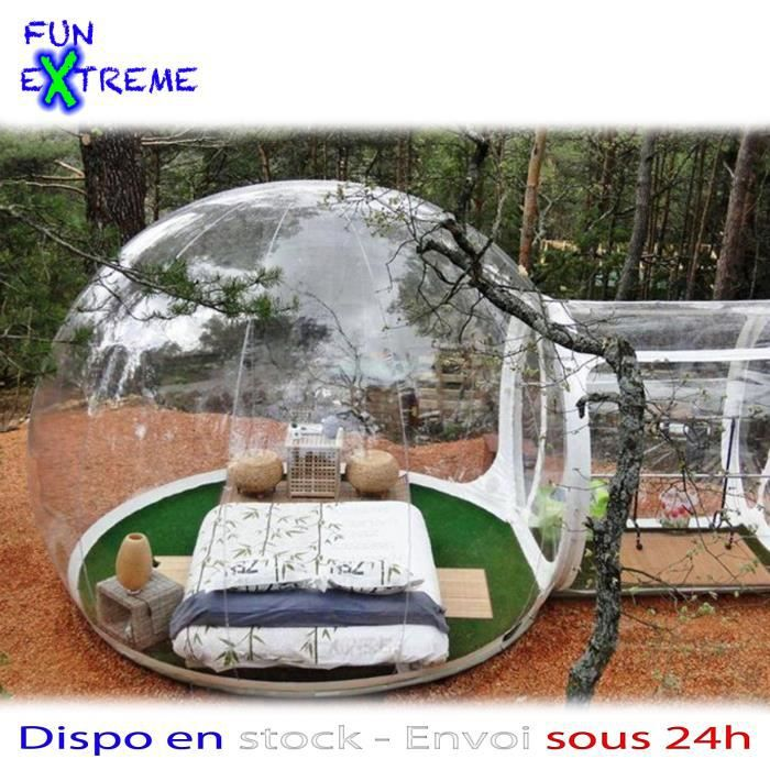 bubble tent igloo tente gonflable 3m achat vente tonnelle barnum bubble tent igloo tente. Black Bedroom Furniture Sets. Home Design Ideas
