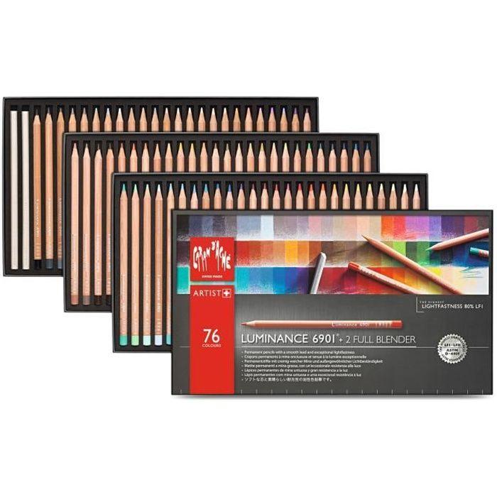 CRAYON DE COULEUR crayons de couleurs boîte de 76 crayons