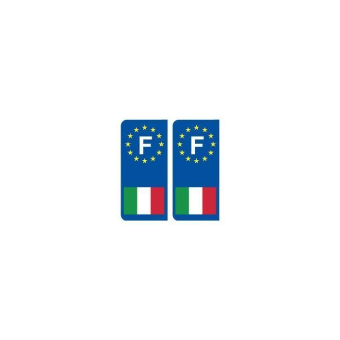 Autocollant de Roma Italie Italia Italy sticker résistant aux UV