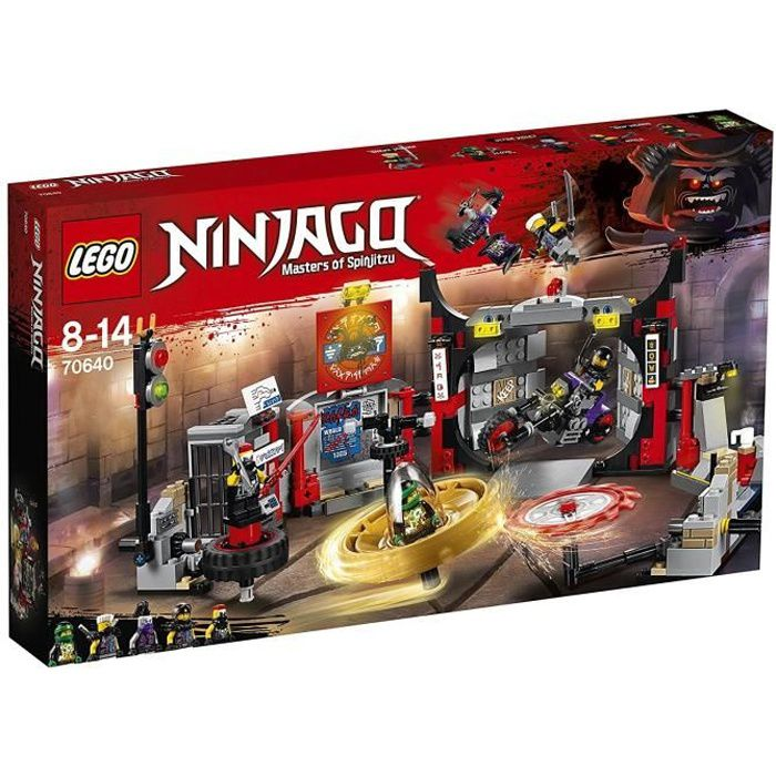 ASSEMBLAGE CONSTRUCTION LEGO® NINJAGO® 70640 Le QG du Gang des Fils de Gar