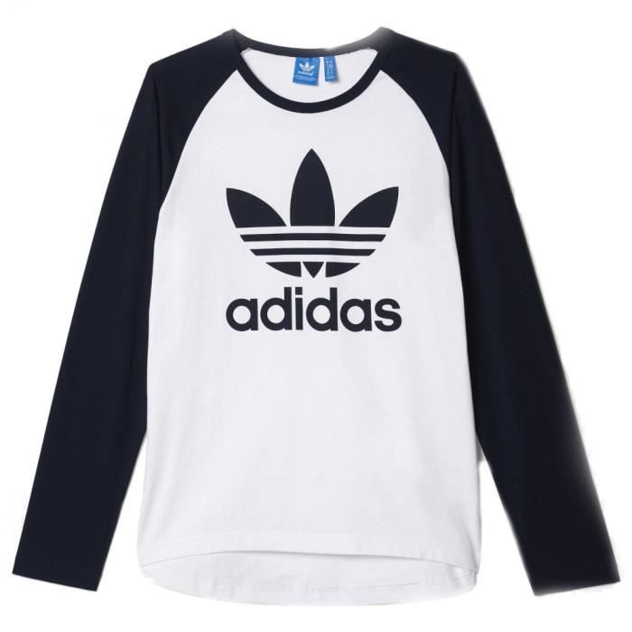 adidas long shirt homme