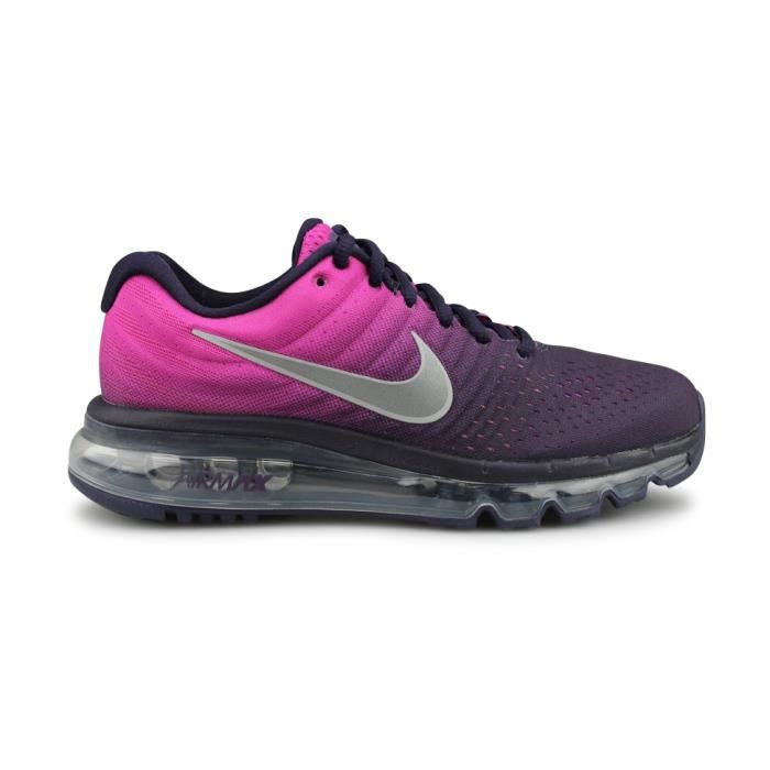 new concept 87832 956d9 NIKE AIR MAX 2017 JUNIOR Violet Mauve - Achat / Vente basket - Cdiscount