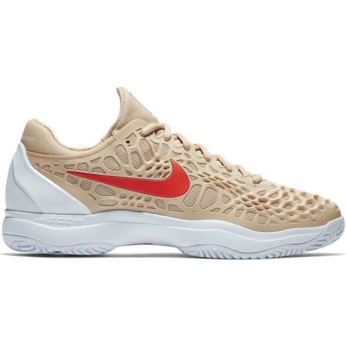sports shoes 39e30 d62dd Chaussure Nike Zoom Cage 3 Bio Beige Hiver 2018