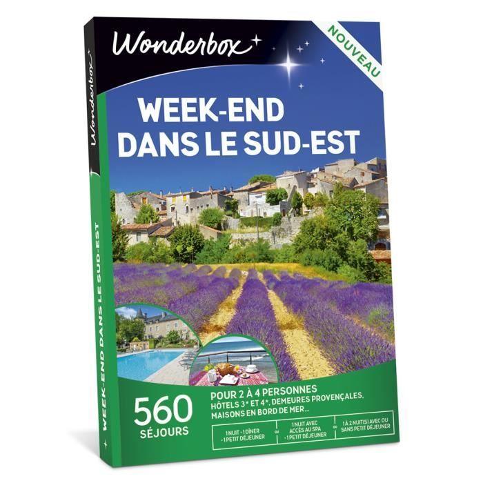 COFFRET SÉJOUR Wonderbox - Box cadeau - Week-end dans le Sud-Est