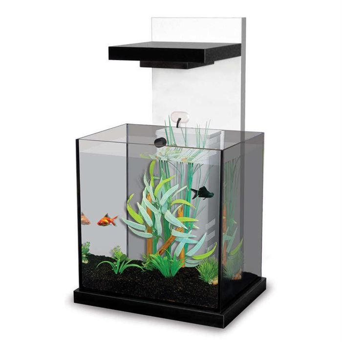 achat aquarium blanc. Black Bedroom Furniture Sets. Home Design Ideas