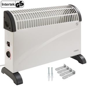 RADIATEUR D'APPOINT Arebos Convecteur électrique Radiateur Thermostat