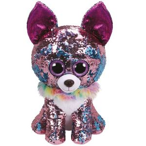 PELUCHE TY TY36764 Flippables large Yappy le chihuahua
