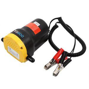 POMPE À VIDE AUTO Mini-Pompe à huile auto-amorçante 12V 60W engrenag