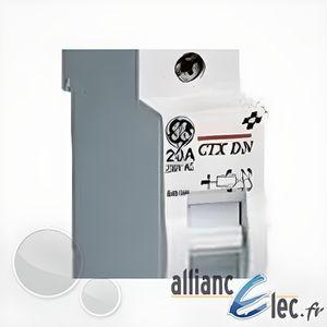 BOITE DE DÉRIVATION CONTAX contacteur jour/nuit General Electric 20...