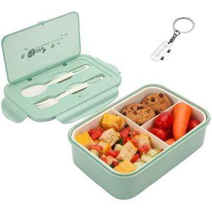LUNCH BOX - BENTO  1400ml Boîte à Déjeuner en Plastique, Boîte à Repa