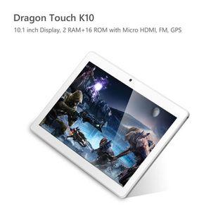 TABLETTE TACTILE Dragon Touch K10 Tablette 10.1