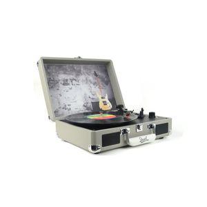PLATINE VINYLE DUAL DL-I-ROCK Valise platine Vinyle avec album Di