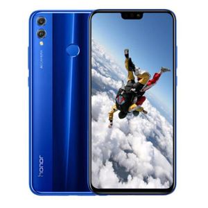 SMARTPHONE HONOR 8X Bleu 64Go Version Globale