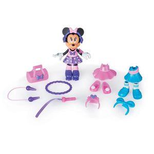 POUPÉE Imc Toys Mode Minnie Doll Fun Gym 3WLUMX