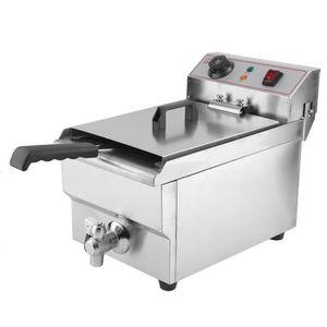 FRITEUSE ELECTRIQUE Friteuse électrique avec robinet de vidange Cateri