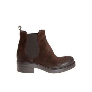 BOTTINE STRATEGIA FEMME P2227CACAO MARRON CUIR BOTTINES