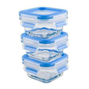 BOITES DE CONSERVATION TEFAL - Set de 3 boîtes de conservation en verre -