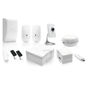 KIT ALARME THOMSON Pack sécurité Premium alarme maison connec